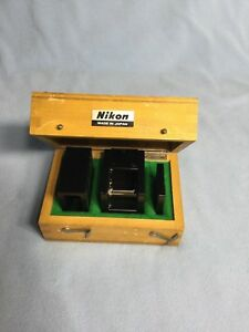 Nikon 90 Penta Prism optical Square With Wooden Case Autocollimator