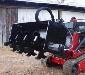 Toro Dingo Mini Skid Steer Attachment 48 Tiller Soil Conditioner Free Ship