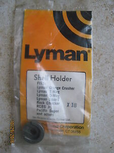 New Old Stock Lyman Reloading Shell Holder 18 #18 X18  348 Win. Winchester