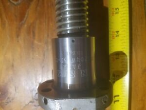 Bridgeport Mill Leadscrew W Ball Nut Resonable Offers Accepted