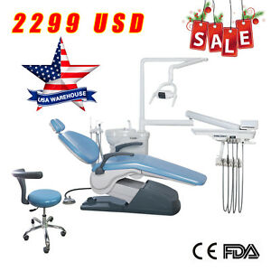 Fda Dental Unit Chair Computer Controlled 110v 4hole Chair Doctor In Usa Ds6