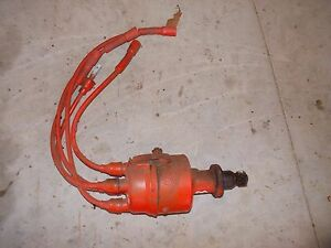 Allis Chalmers B C Tractor Ac Distributor Drive W Plug Wires