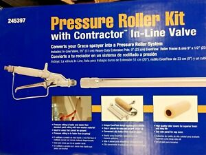 Graco Paint Sprayer Roller Kit 245397 W Contractor Inline Valve