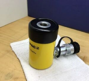 Enerpac Rch 1211 Hollow Plunger Hydraulic Cylinder 12 Ton 2 Stroke Nice