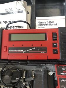 Snap On Mt2500 Super Deluxe Scanner Tool Set With Hard Case And Manuals