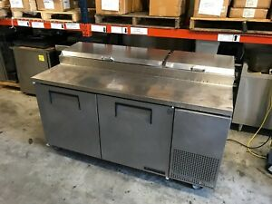 True Model Tpp 67 Pizza Sandwich Prep Table 2 Door