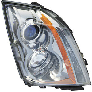 For Cadillac Cts 2008 2009 2010 Pair New Left Right Headlight Assembly