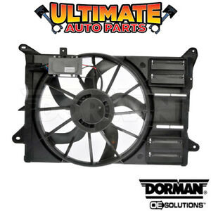 Radiator Cooling Fan With Controller 2 0l Turbo For 12 14 Ford Edge