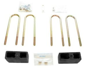 Suspension Leaf Spring Block Kit Rear Rancho Rs80054