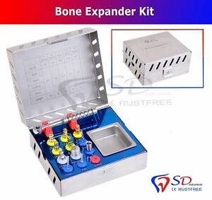 12 Pcs Bone Expander Sinus Lift Kit Dental Implant Surgical Instruments Dental