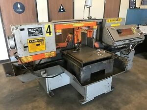 Hem H120la Automatic Horizontal Band Saw Power Clamping Power Feed