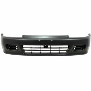 Front Bumper Cover For 1992 1995 Honda Civic Coupe hatchback Primed Plastic