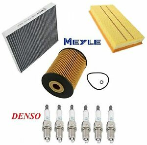 Tune Up Kit Oil Cabin Air Filters Plugs Fit Volkswagen Touareg 3 6l 06 09 10
