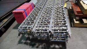 12 X 8 Speedways Aluminum Gravity Roller Conveyor One Section 2 Rollers