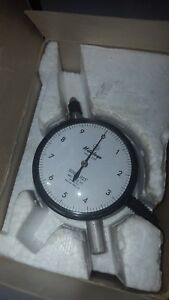 Mitutoyo 2802 70 Dial Indicator Japan 0001 025 0 10 Good Preowned
