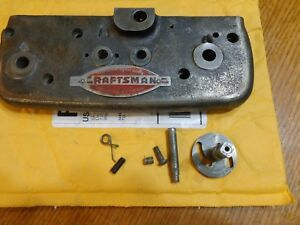 Craftsman Atlas Carriage Apron With Parts oilers Etc Pn L6 9a Used nice