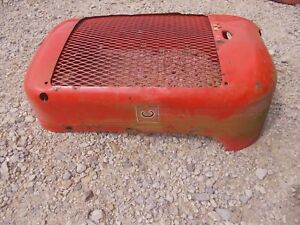 Allis Chalmers C Tractor Original Factory Ac Front Nose Cone Grill W screen kk