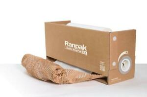 Geami Greenwrap Ranpak Wrappak Ex Exbox Mini Brown Honeycomb Paper Packaging