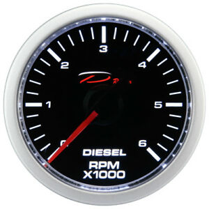 52mm Diesel Tachometer Gauge 0 6000 Rpm D Racing On Dash Electrical 12v Motor