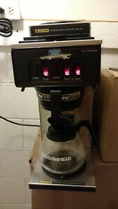 Working Bunn Commercial Coffee Brewer Vp17 3s Maker W Three Burners Clean Ready