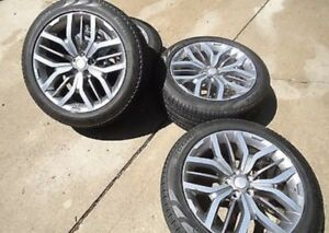 2015 Oem Range Rover Sport Svr Wheel And Tire Package Limited Edition 21