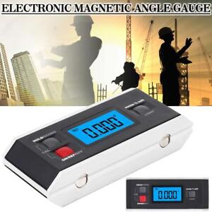 Waterproof Digital Display Inclinometer Electronic With Magnetic Angle Meter