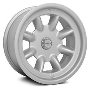 Trans Am Race Engineering Minilite Wheel 15x8 0 5x114 3 73 Silver Single Rim