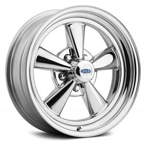 Cragar 61c S S Super Sport Wheel 15x7 0 5x120 65 90 91 Chrome Single Rim