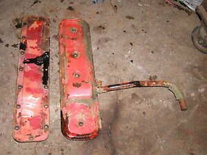 Farmall M Early Sm Tractor Ih Engine Motor Side Cover Panels Water Jacket