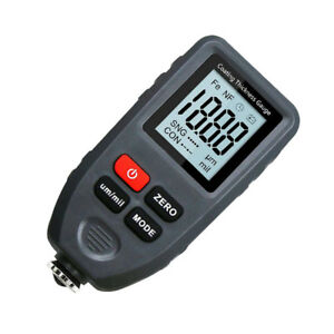 Magideal Portable Digital Lcd Thickness Gauge Meter Metal Tester Micrometer