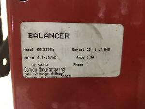 Snap On john Bean Digital Wheel Balancer Eewb305a