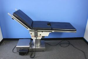 Skytron Elite 5001 Surgical Table W Remote Control And Pads