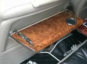 Pair Of Vip Folding Wood Table Trays For Back Rear Seats Junction Upgrade