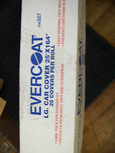 Evercoat Large Car Cover 25 X 164 1 Mil Thick 25 Covers Per Roll 100327 New