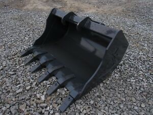 Bobcat Mini Excavator Attachment 36 Heavy Duty Tooth Bucket Ship 149