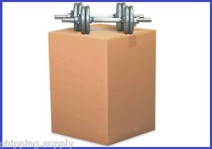 15 Pack Heavy Duty Double Wall Cardboard Shipping Boxes 13 Sizes Available