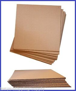 50 Pack Corrugated Cardboard Layer Pad Insert Sheet Divider large 6 Sizes