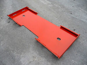 Kubota Quick Attach Attachment Skid Steer Mount Weld Plate Free Shipping