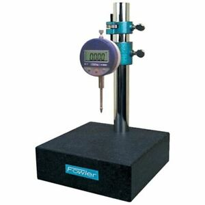 Fowler 52 580 025 Granite Gage Stand With Electronic Indicator 8