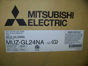 Mitsubishi Electric Split system Heat Pump 208 230v 60hz R410a 24kbtu Muz gl24na