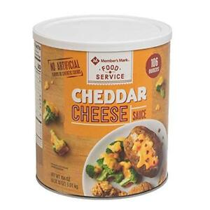 Member s Mark Cheese Sauce Cheddar 106 Ounce