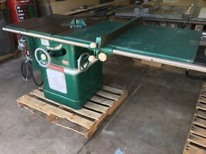 Powermatic Table Saw 66 10 Inch Single Phase Left Tilt 3 Hp