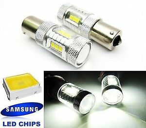 2x Samsung 15 Smd Led P21w Ba15s 1156 For Mb Mercedes Benz Projector Tail Light