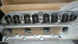 Brand New 289 302 Aluminum Heads With 7 16 Rocker Studs Push Rod Guide Plates