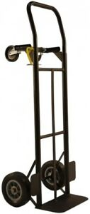 Milwaukee Hand Truck Convertible 600 Lb Capacity 8 In Puncture Proof Tires