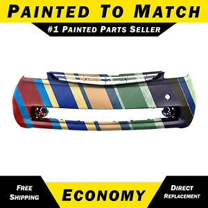 New Painted To Match Front Bumper Cover Replacement For 2004 2009 Toyota Prius
