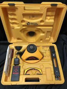 Spectra Precision 1452xl Self Leveling Rotary Laser Level With Chicken