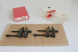Starrett Clamps 161b Vintage Toolmakers Parallel Clamps In Box 1 Pair