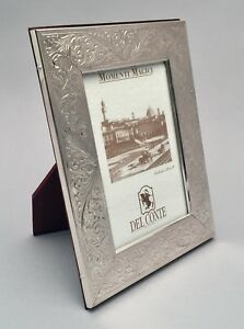 Sterling Silver Picture Frame By Del Conte 3 1 2 X 5