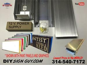 Box Sign 4 X 6 Led Lit Do It Yourself Frame Kit Or Any Size You Need